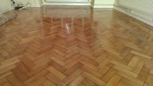 Herringbone Parquet Floor Sanding and Refinishing Essex