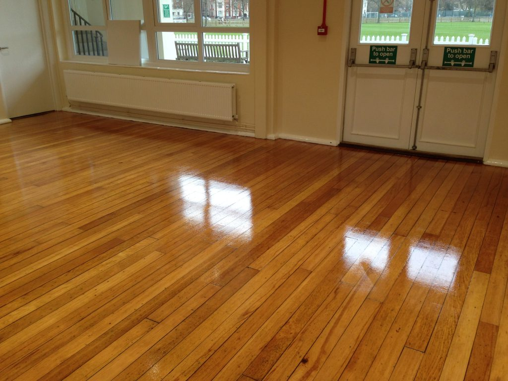 Commercial Wood Floor Sanding and Refinishing
