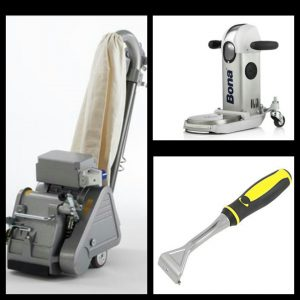 The Confident/Professional Floor Sanding Package