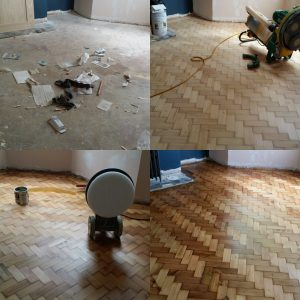 Parquet and Herringbone Floor Sanding Package