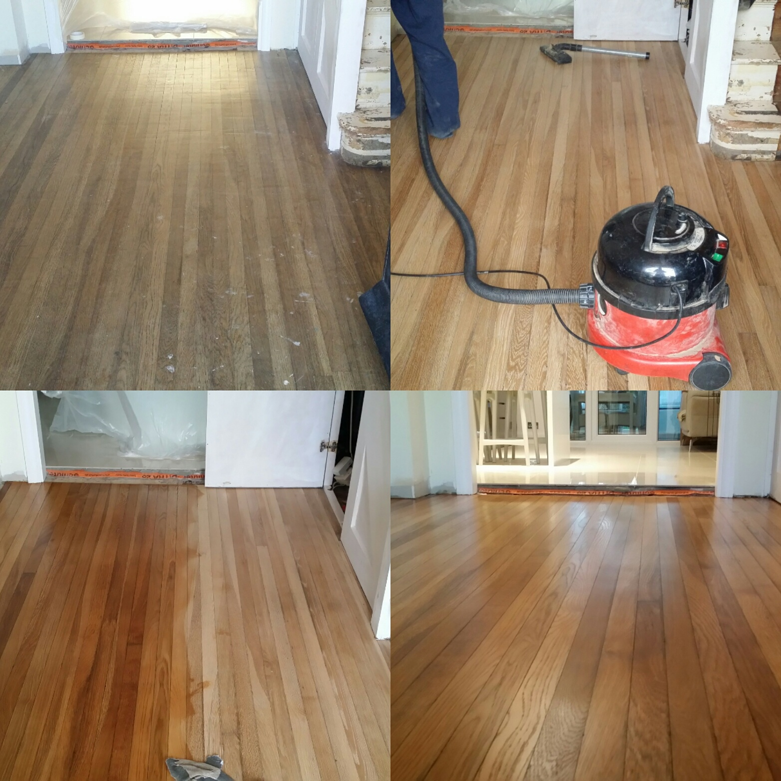Hardwood floor refinishing absolute floor sander hire for Wood floor buffer rental