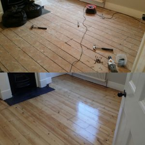 London Wood floor refinishing