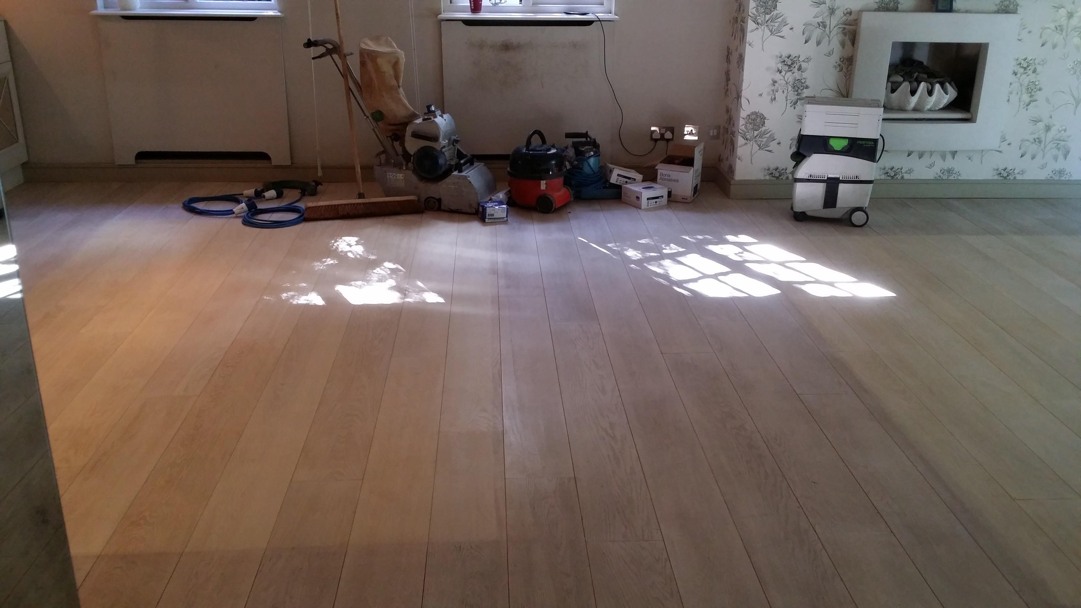 Floor sander hire package essex