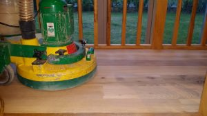 Dust free Trio Floor Sander