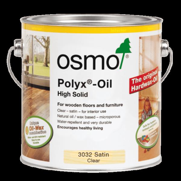 2.5lt tin of Osmo Oil