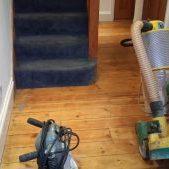Trio and edger floor sander